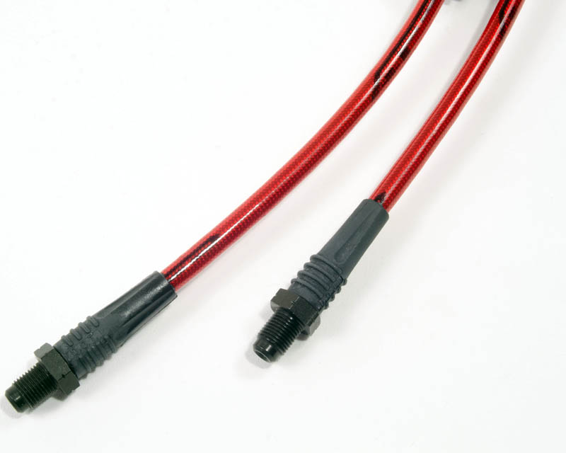 Front Steel Braided Brake Lines 08-13 BMW 1-Series E82 | E88 | E87 Agency Power