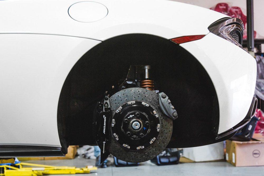 Lowering Springs McLaren 570S Agency Power