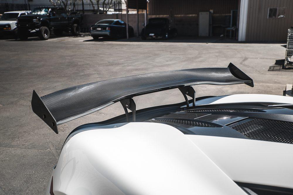 Carbon Fiber Rear Spoiler 67 Inch McLaren 570S Agency Power