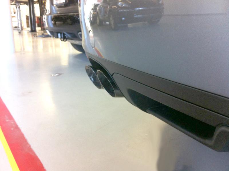 Big Quad Tip Exhaust Tips 11-14 Porsche Cayenne 958 Agency Power