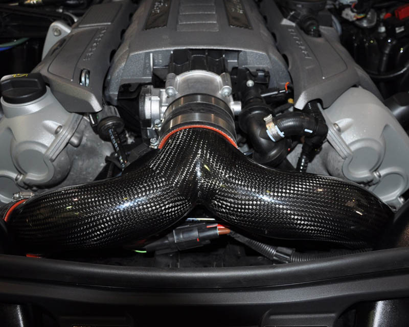 Carbon Fiber 3 inch Y-Pipe 10-16 Porsche 970 Panamera Turbo Agency Power