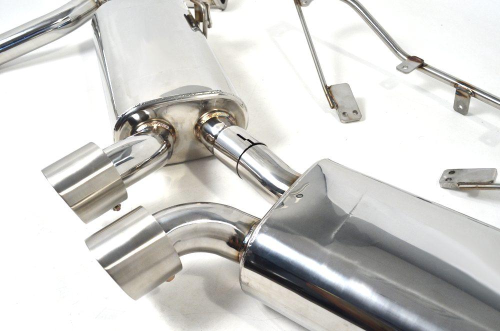 Exhaust Muffler System 12-Pres Porsche 981 Cayman | Boxster | GT4 Agency Power