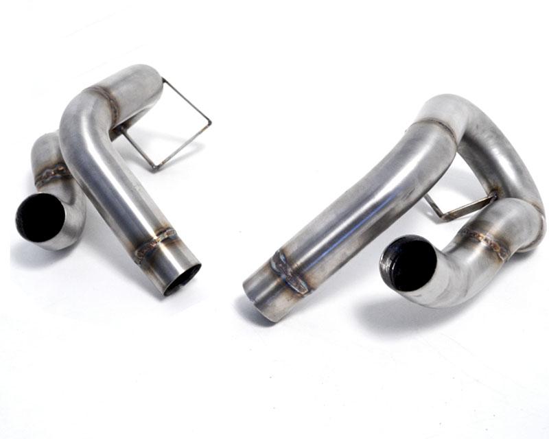 Secondary Muffler Bypass Pipes 12-16 Porsche 991 Carrera S Agency Power