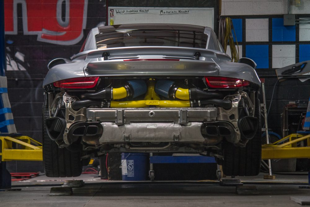 High Flow Y-Pipe 14-17 Porsche 991 Turbo | Turbo S Agency Power