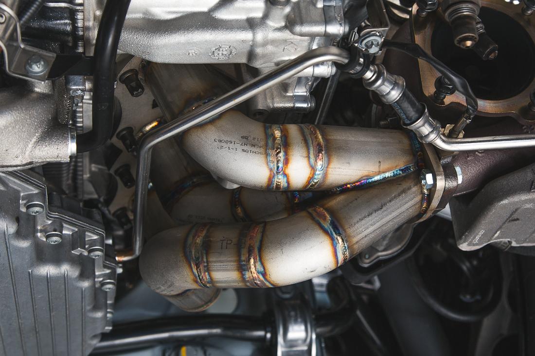 Performance Tubular Headers 14-17 Porsche 991 Turbo Agency Power