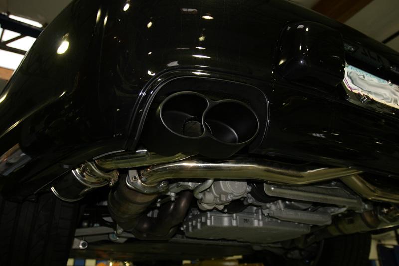 Polished Exhaust Tips Porsche 997 Carrera S Agency Power