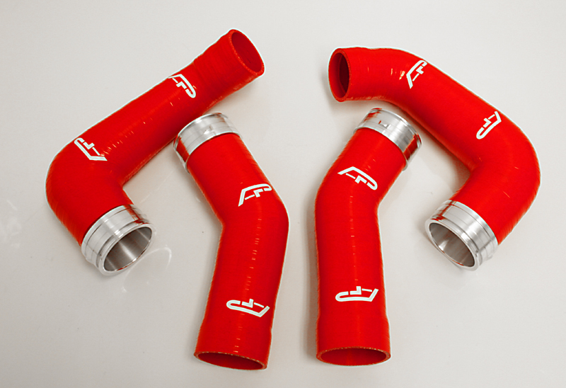 Silicone Boost Hose Set Red 07-09 Porsche 997 Turbo Agency Power