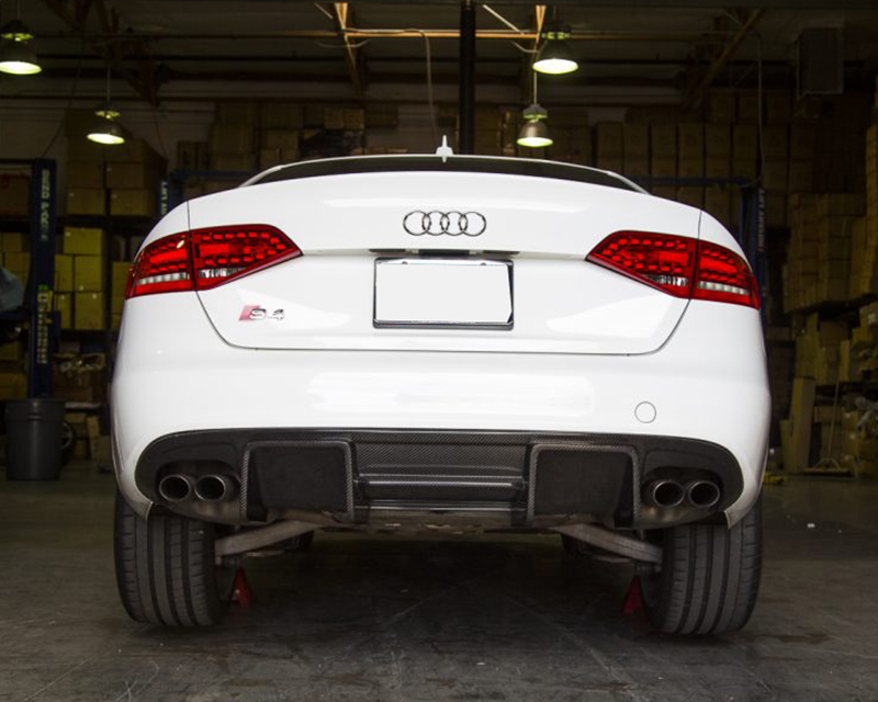 Agency Power Carbon Fiber Rear Diffuser Audi B8 A4 S Line 09 12