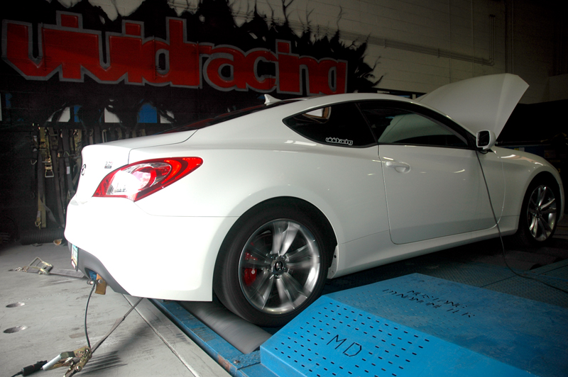 Catback Exhaust w/Stainless Steel Exhaust Tips 09-12 Hyundai Genesis 2.0 Turbo Agency Power