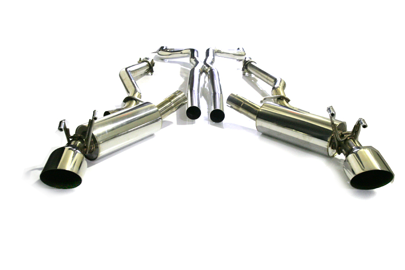Catback Exhaust Including X-Pipe 10-13 Chevrolet Camaro SS V8 Agency Power