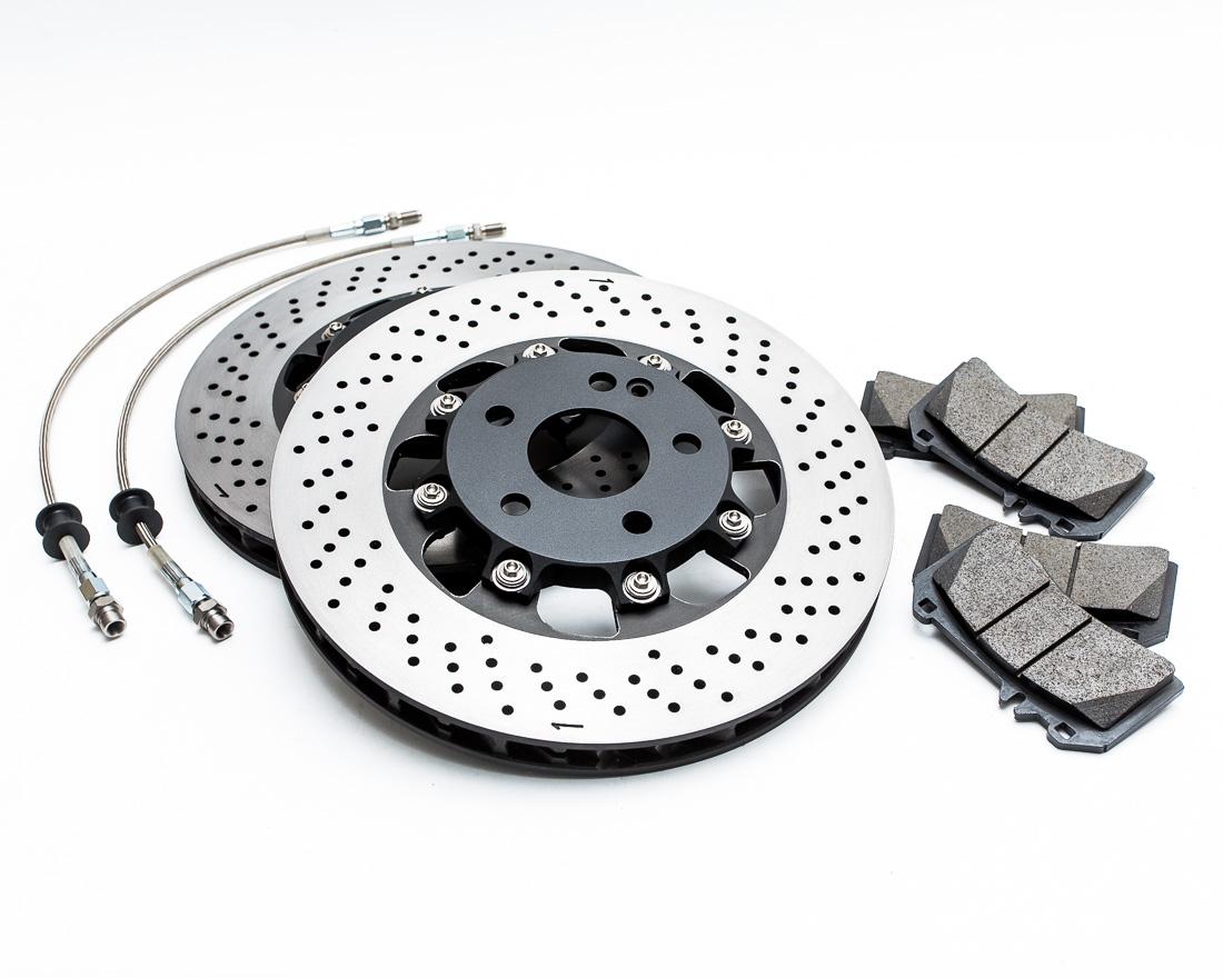 Front Brake Rotor Upgrade Kit Mercedes CLA45|A45|GLA45 Agency Power