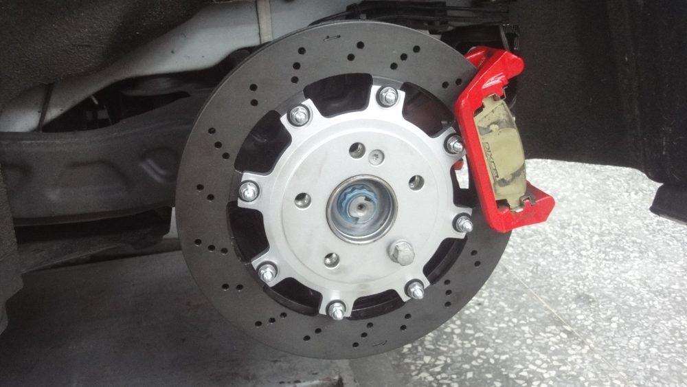 Rear Brake Rotor Upgrade Kit Mercedes CLA45|A45|GLA45 Agency Power