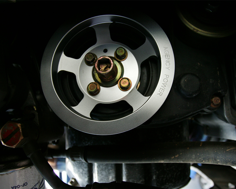 Race Crank Pulley Mitsubishi EVO VIII | IX Agency Power