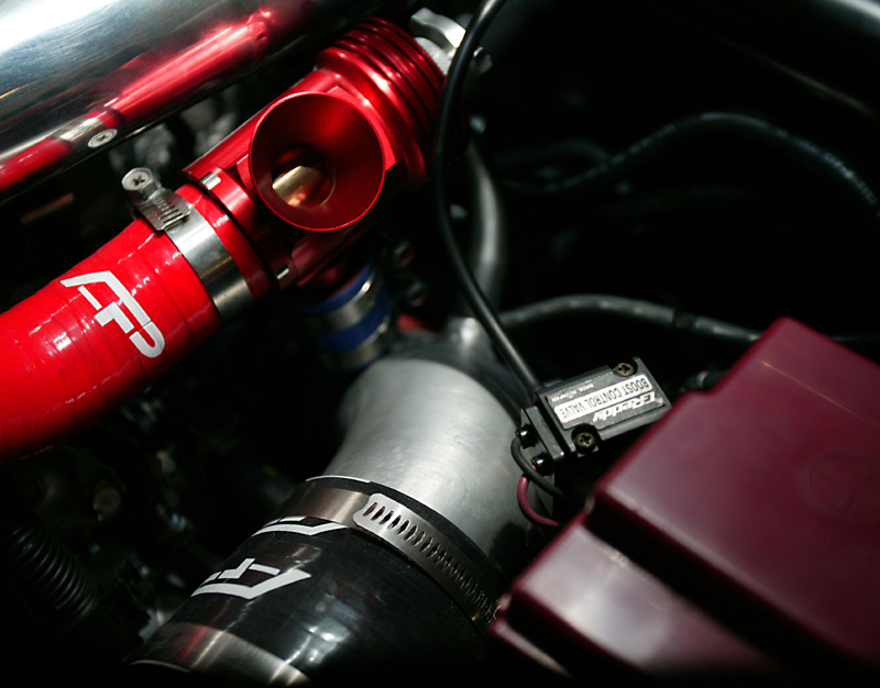 Turbo Suction Pipe Kit 08-15 Mitsubishi EVO X Red Agency Power
