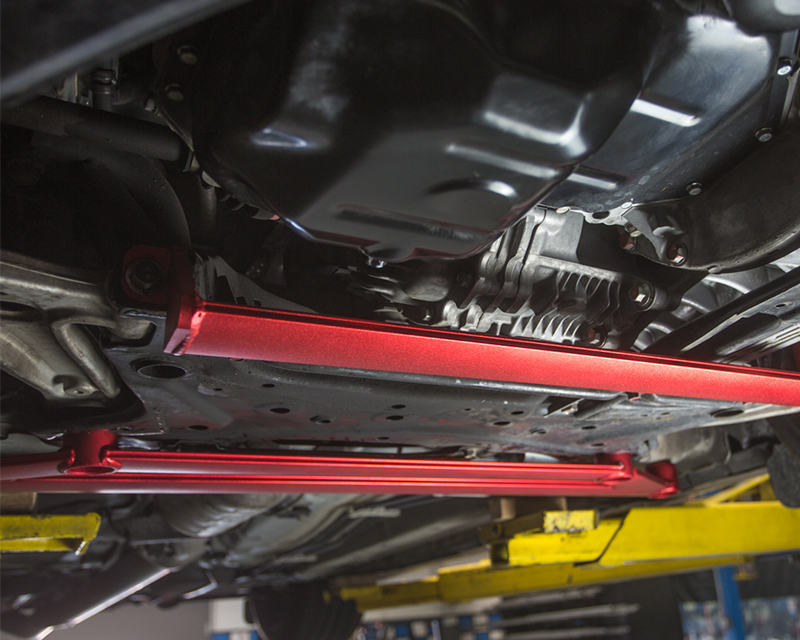 Front Lower Subframe X Brace Mitsubishi EVO X Agency Power