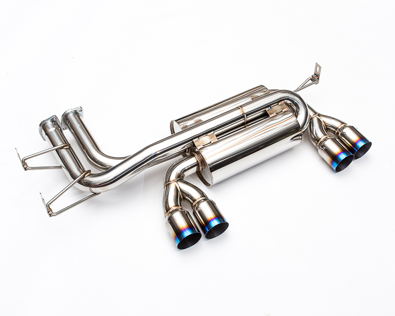 AP-E46M3-170 Axle Back Muffler with Titanium Tips BMW M3 E46 Agency Power