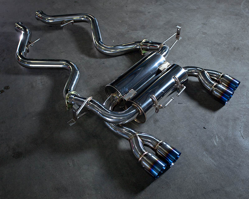 Exhaust System w/Stainless Steel Tips 08-13 BMW M3 Coupe E92 Agency Power