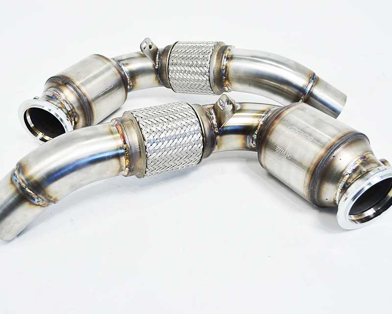 Catted Race Down Pipes 12-17 BMW F10 M5 | F12 M6 Agency Power