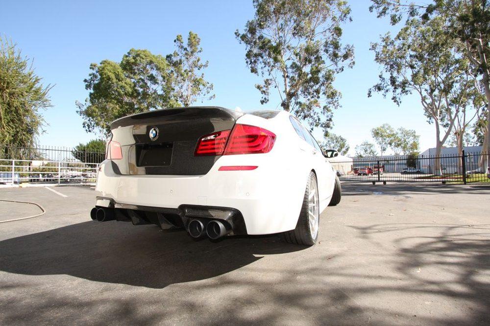 Carbon Fiber Rear Diffuser 12-17 BMW F10 M5 Agency Power