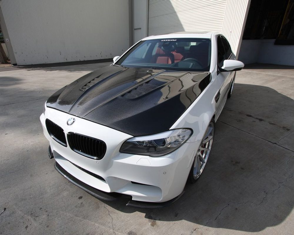 Carbon Fiber Hood DTM Style 11-17 BMW F10 M5 550 535 528 Agency Power