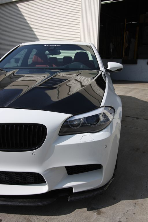 Carbon Fiber Hood DTM Style 11-17 BMW F10 M5 550 535 528 Agency Power