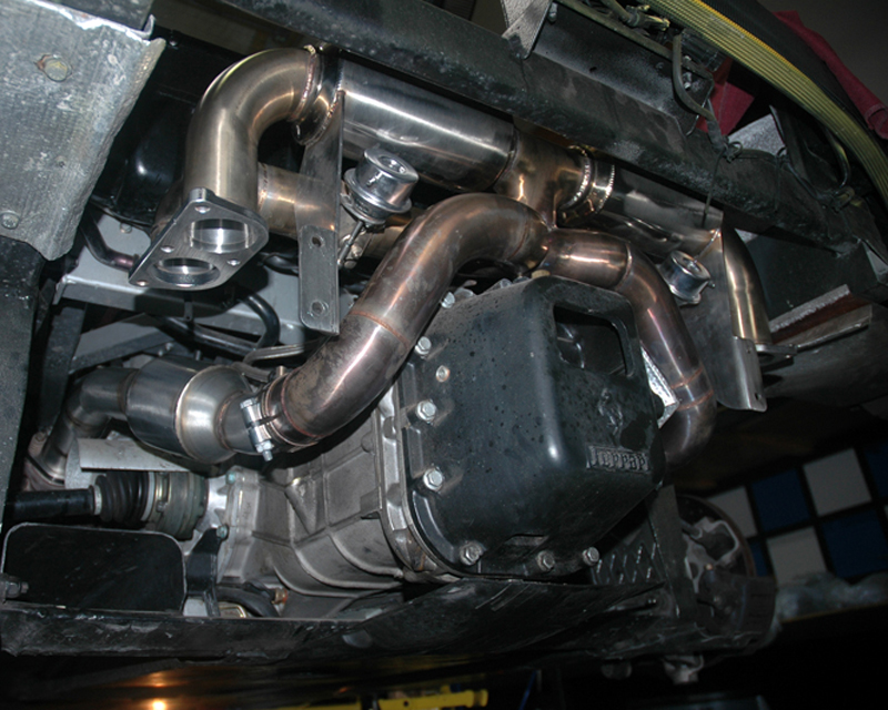 High Flow Cat Pipes 99-05 Ferrari 360 Modena Agency Power