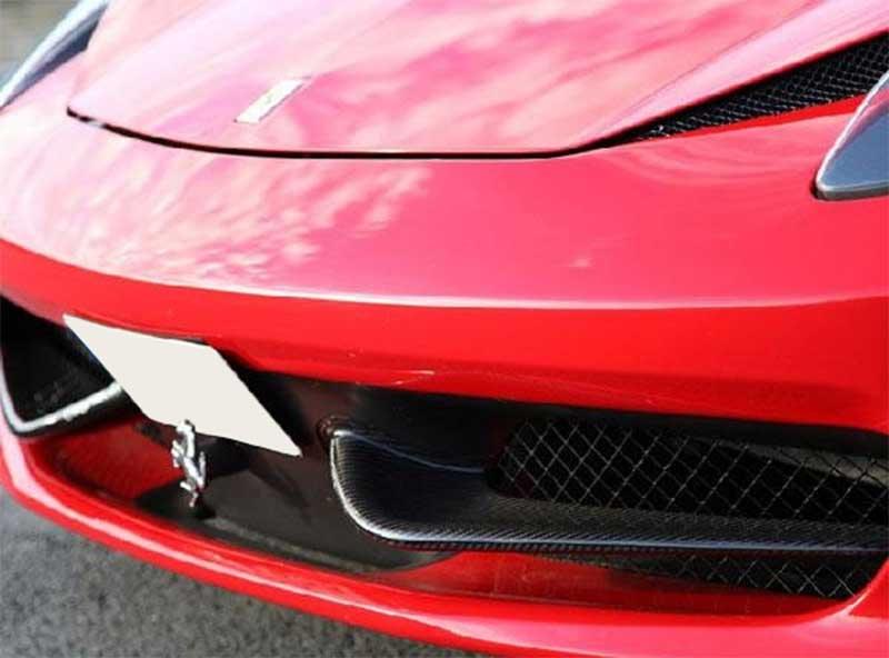 Agency Power Carbon Fiber Front Wings Ferrari 458