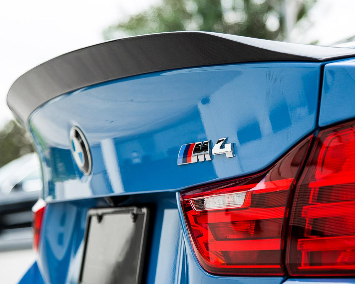 Aeroform Carbon Fiber Rear Spoiler 15-17 BMW F82 M4 Coupe Agency Power