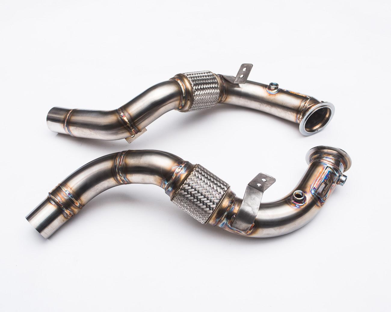 Race Down Pipes 15-17 BMW X5M F85 | X6M F86 Agency Power