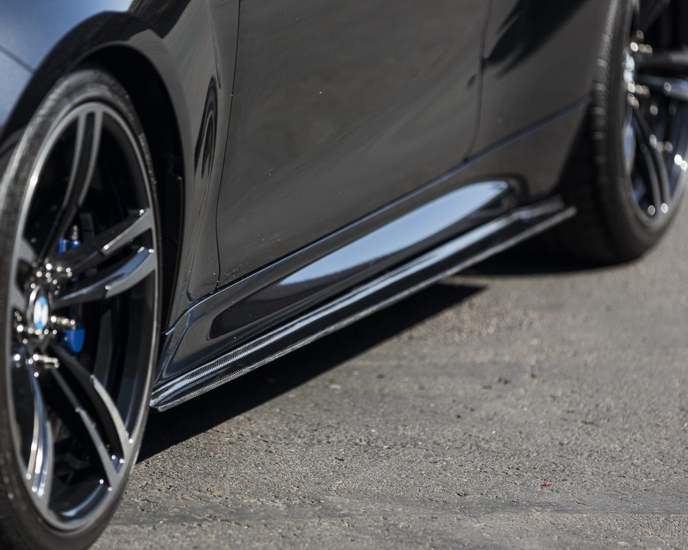 Agency Power Carbon Fiber Side Skirts BMW M2 F87