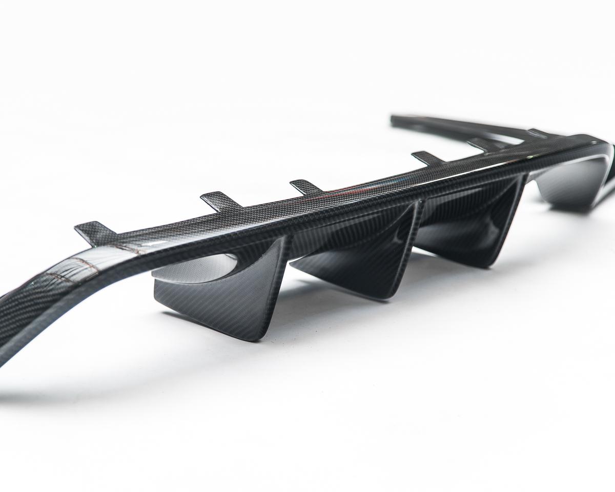 Aeroform Carbon Fiber Rear Diffuser 15-17 BMW F82 F80 M4 M3 Agency Power