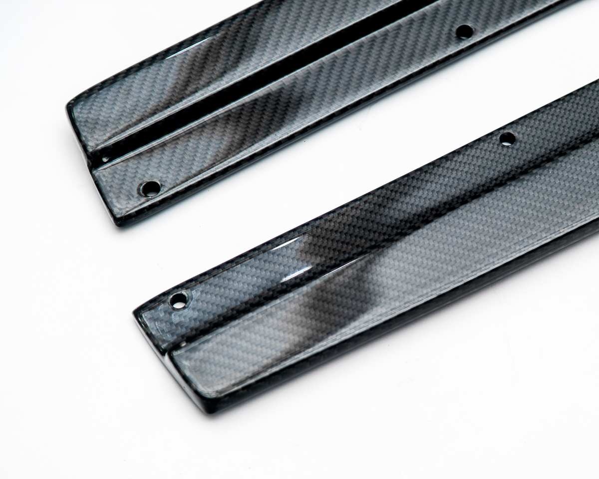 Aeroform Carbon Fiber Side Skirt Extensions BMW F80 M3 | F82 M4 15-17 Agency Power