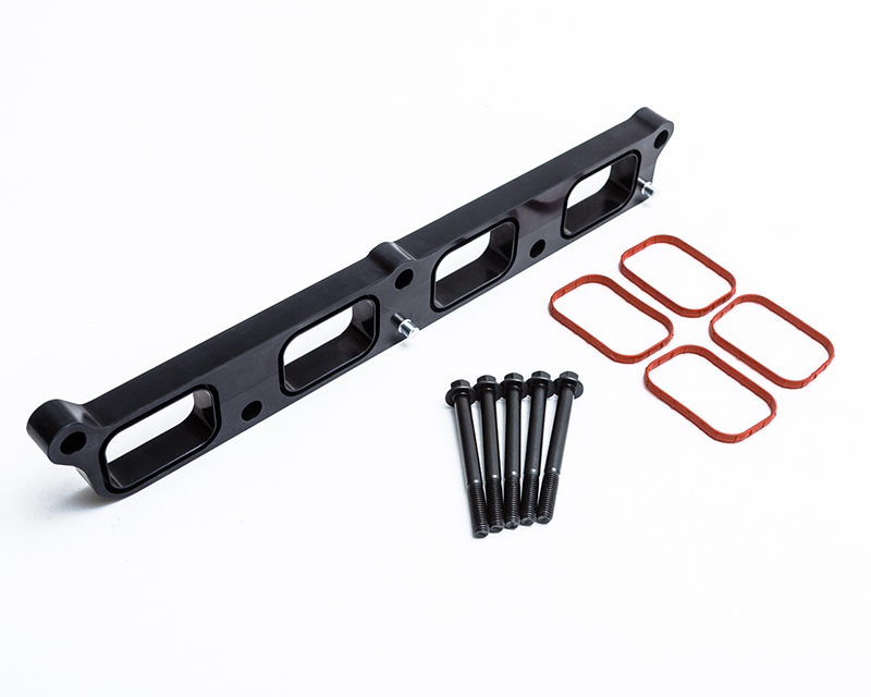 Black Intake Manifold Spacer Ford Focus RS 15-17 Agency Power