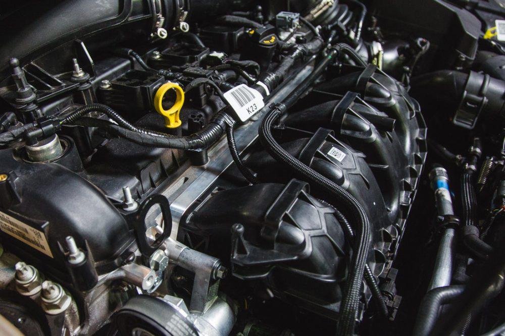 Smoke Intake Manifold Spacer Ford Focus RS 15-17 Agency Power