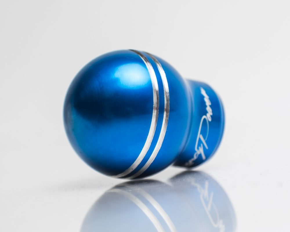 6Speed Aluminum Shift Knob Blue Ford Focus RS Agency Power