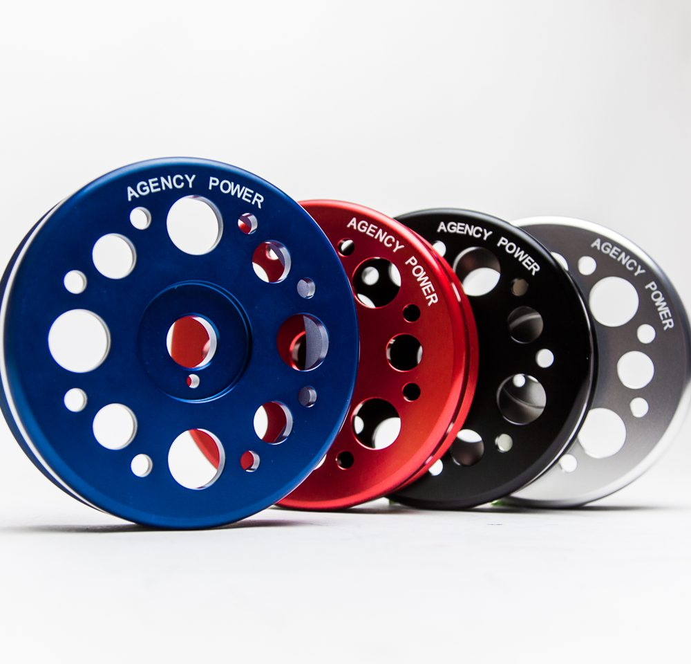 Lightweight Crank Pulley Blue Scion FRS | Subaru BRZ | Toyota GT-86 Agency Power