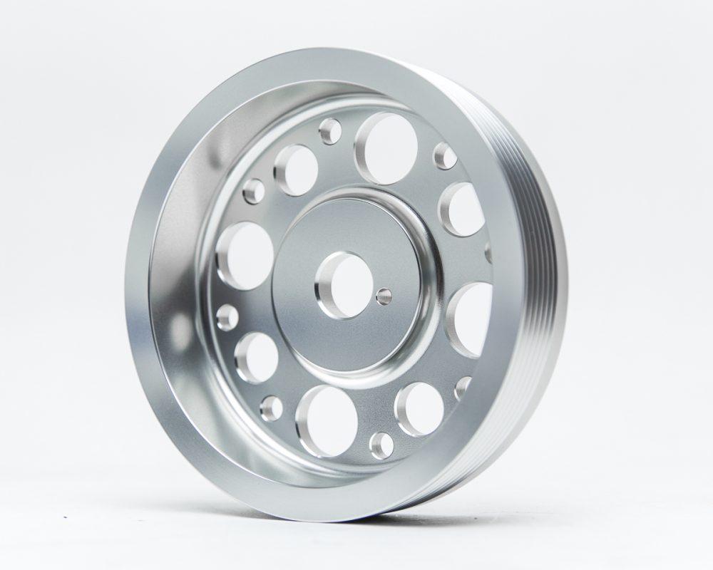 Lightweight Crank Pulley Silver Scion FRS | Subaru BRZ | Toyota GT-86 Agency Power