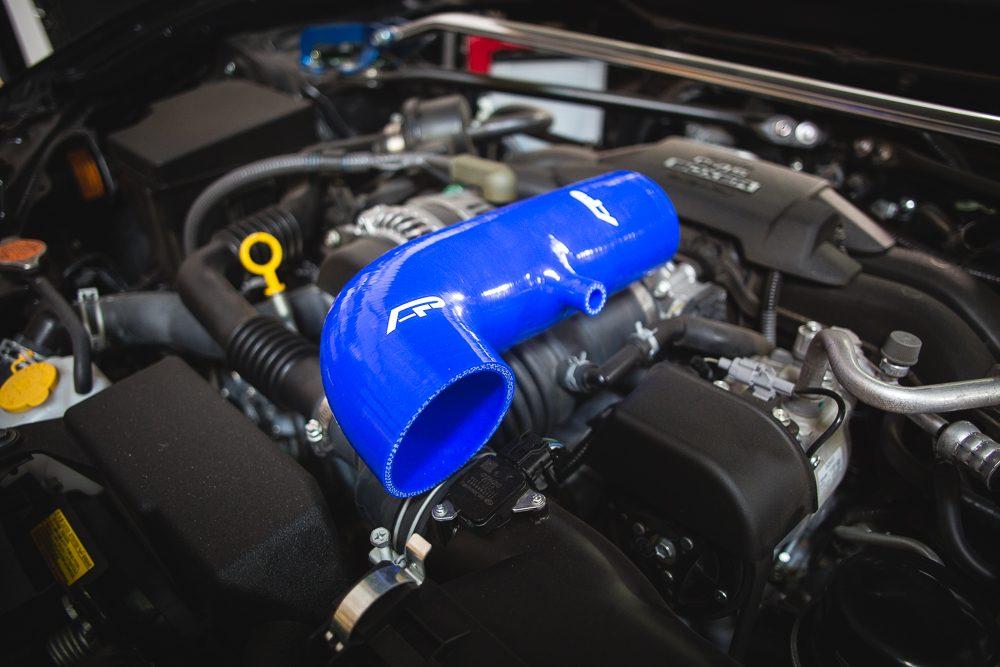 Silicone Intake Tube Scion FR-S | Toyota GT-86 | Subaru BR-Z Blue Agency Power