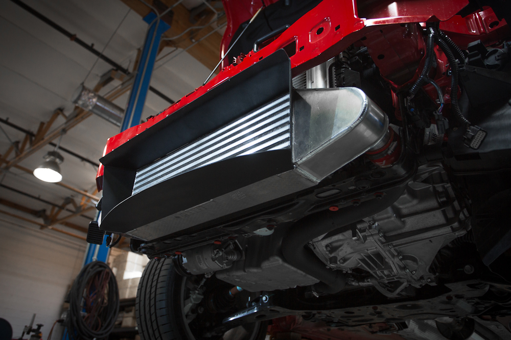 Intercooler Upgrade w/Ducting 600hp Rated 13-17 Ford Focus ST Agency Power