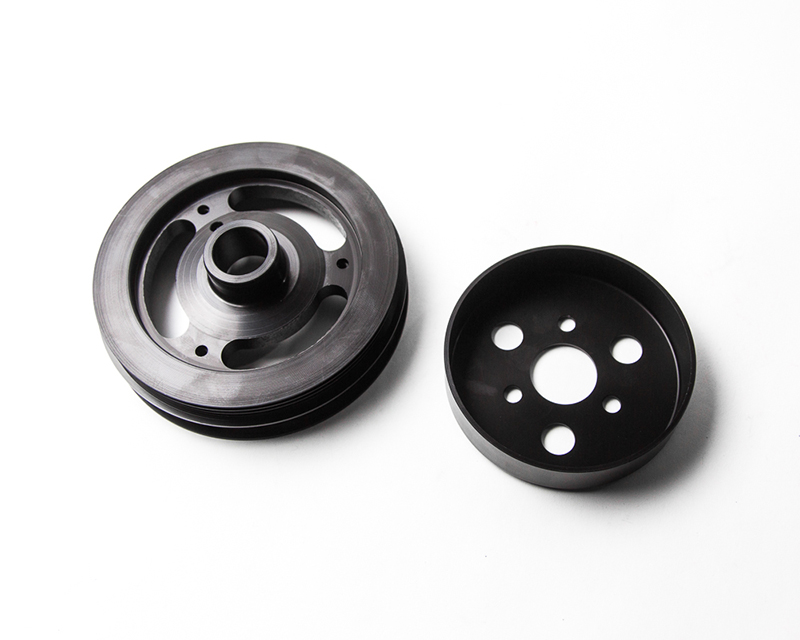 Lightweight Crank Pulley w/Water Pump Pulley Kit Ford Focus ST | Focus RS Agency Power