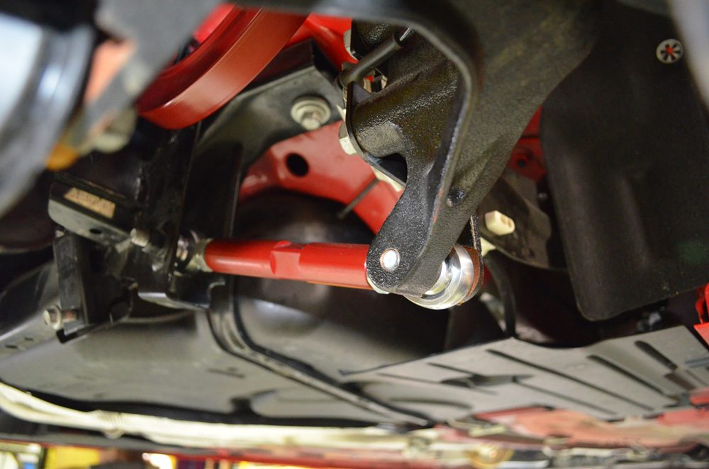 Rear Adjustable Toe Arms Ford Focus ST | Focus RS Agency Power