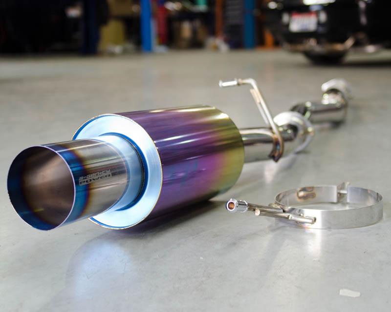 Titanium Muffler Catback Exhaust 02-07 Subaru WRX STI Agency Power