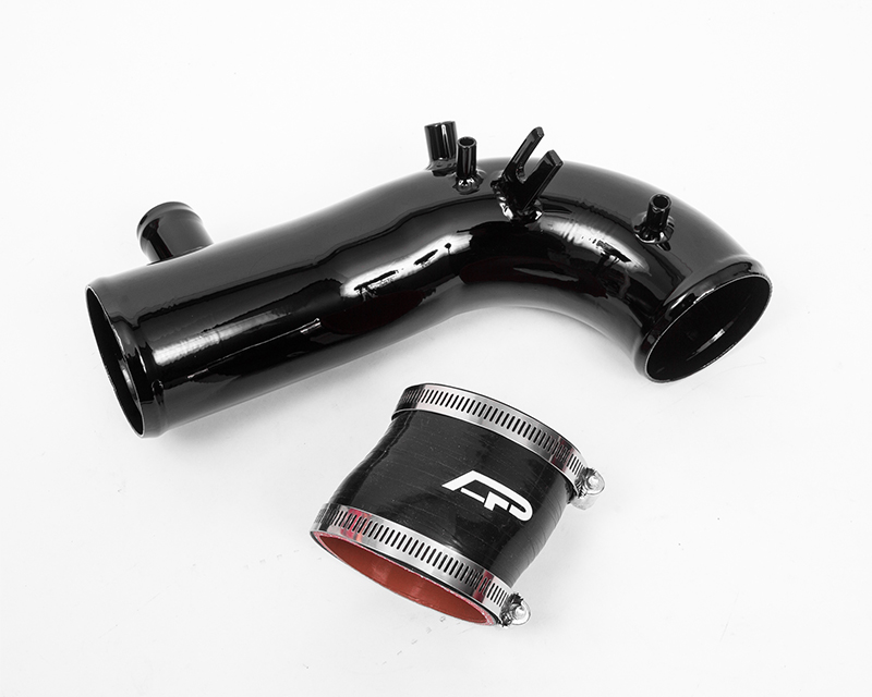 Hard Turbo Inlet Pipe Kit 2.5 Inch Black 02-07 Subaru WRX | STI | Forester XT Agency Power