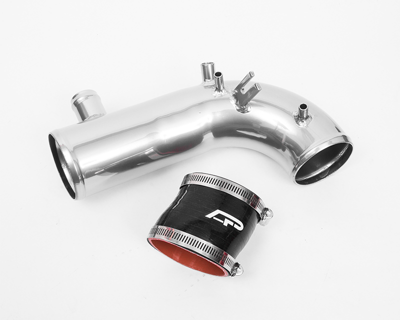 Hard Turbo Inlet Pipe Kit 3 Inch Chrome 02-07 Subaru WRX | STI | Forester XT Agency Power