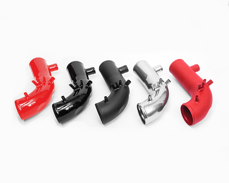 Agency Power Hard Turbo 2.25 inch Inlet Pipe Kit Wrinkle Red Subaru STI 04-17 | Subaru Forester XT 04-08