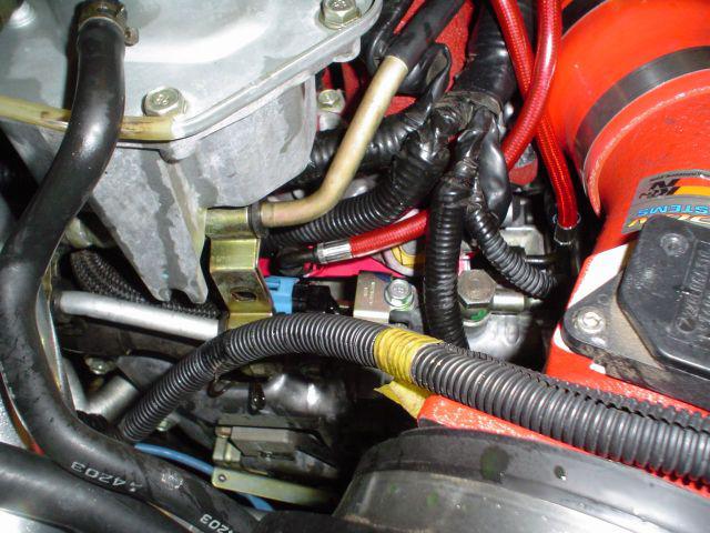Flow Fuel Rail Red 04-06 Subaru STI Agency Power