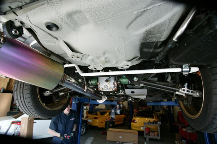 22mm Rear Adjustable Sway Bar 04-07 Subaru STI Agency Power
