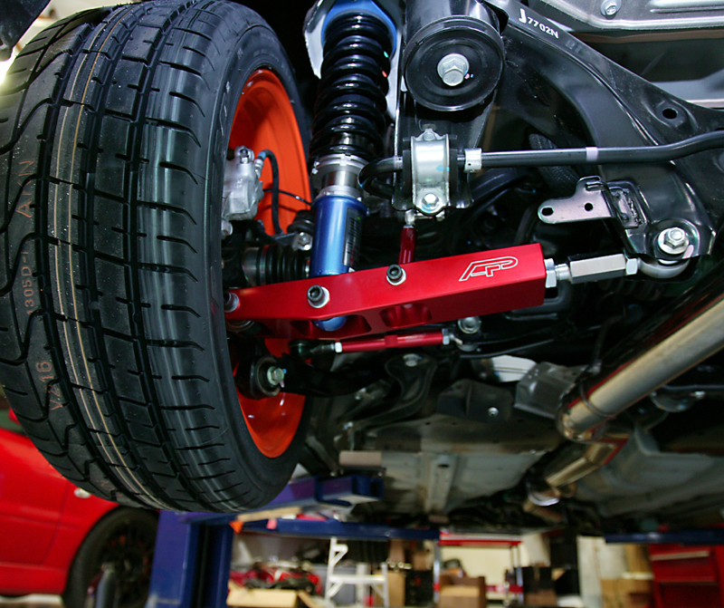 Rear Adjustable Control Arms 08-12 Subaru WRX STI Agency Power
