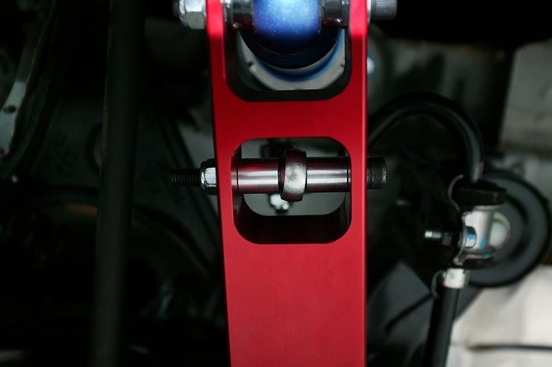 Rear Adjustable Sway Bar Links 08-12 Subaru WRX STI Agency Power