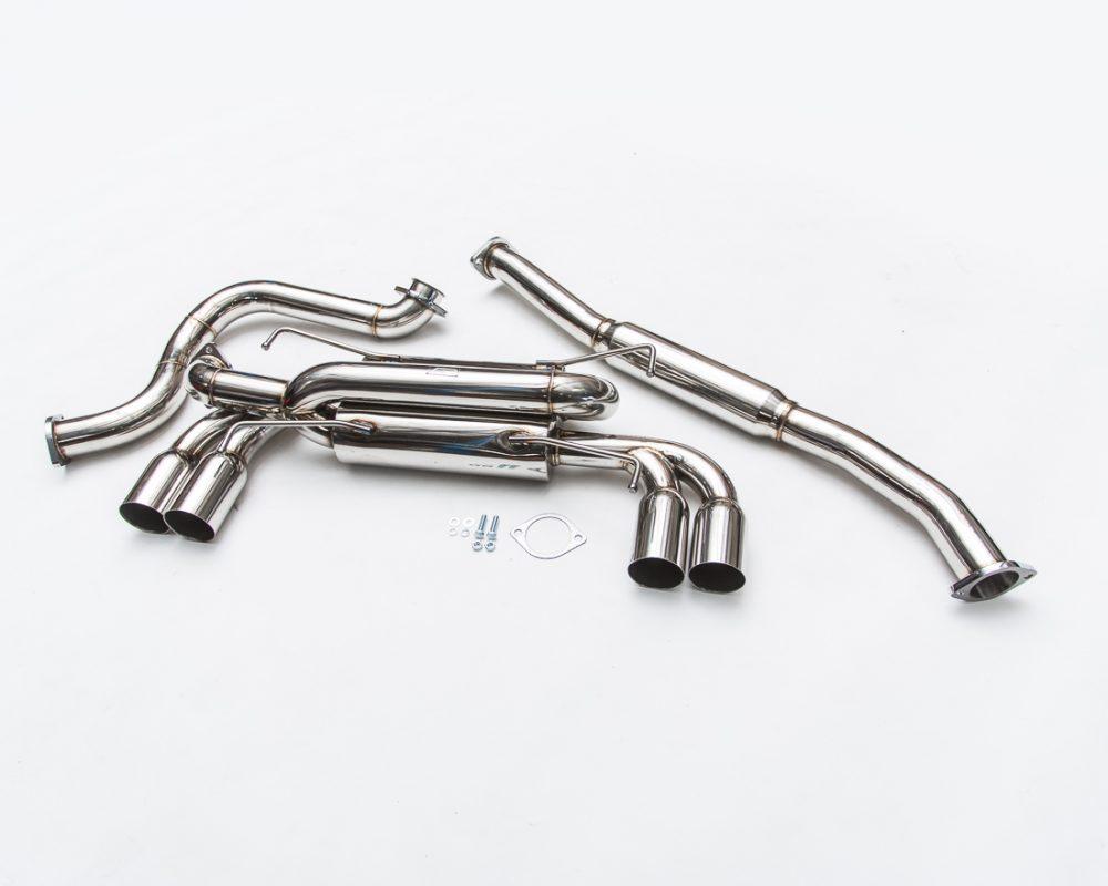 Stainless Steel Catback Exhaust System SS Tips Subaru STI Hatch 08-14 | WRX Hatch 11-14 Agency Power